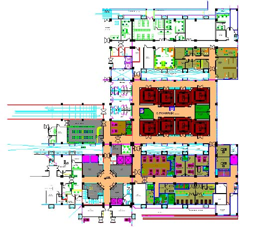 Imaging Center Floor Plans on outpatient clinic floor plan